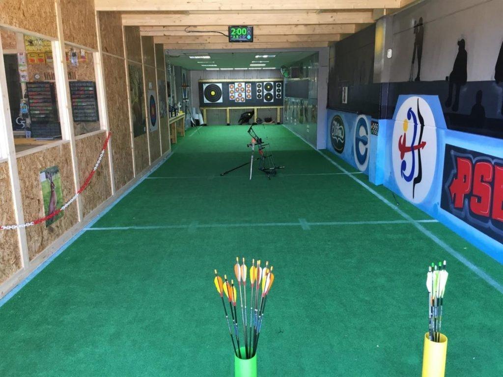 Sala de tiro con arco en madrid